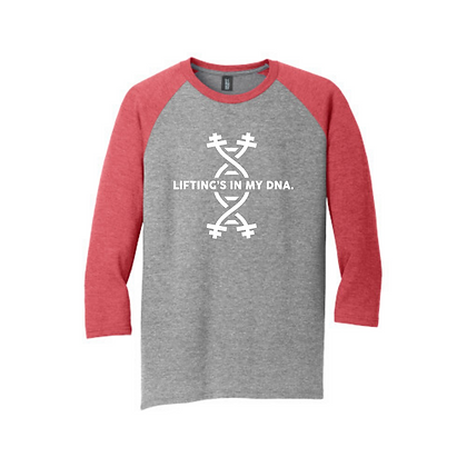 Lifting's in My DNA Unisex Baseball Shirt