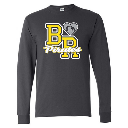 Black River Wrestling Glitter Design Long Sleeve T-shirt