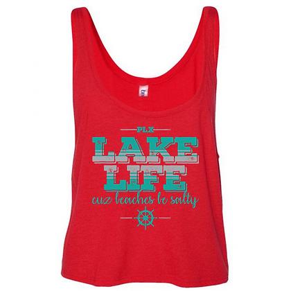 Lake Life Women's Flowy Tank