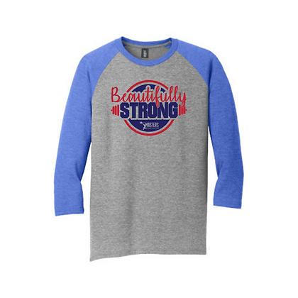Masters Beautifully Strong Unisex Baseball Shirt