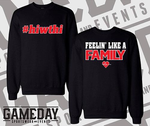 #hiwthi Crewneck Sweatshirt