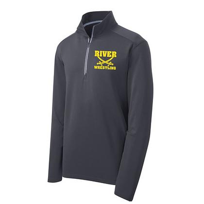 Black River Wrestling 1/4 Zip Sweatshirt
