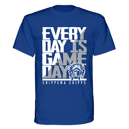 Everyday is Gameday Chippewa Chipps Unisex T-Shirt