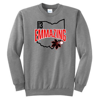 Grey Emmazing Crewneck
