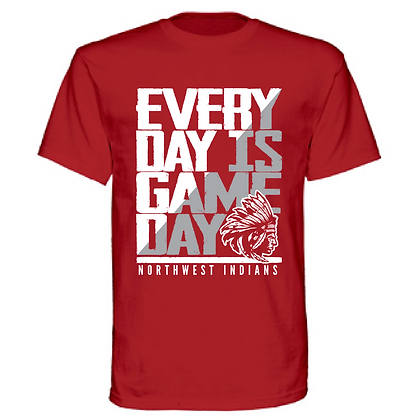 Everyday is Gameday Northwest Indians General Logo #11 Unisex T-Shirt