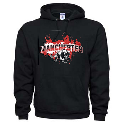 Manchester Panthers General Logo #5 Unisex Hoodie