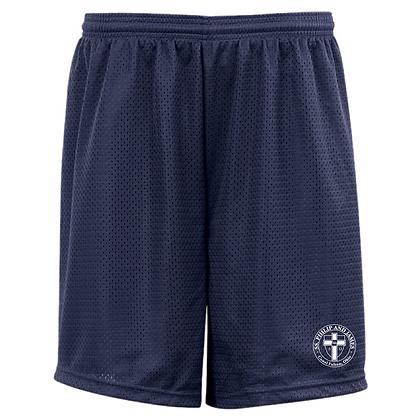 SPJ Gym Logo Mesh Shorts