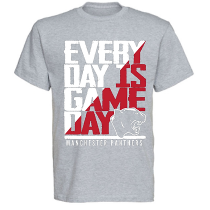 Everyday is Gameday Manchester Panthers Unisex T-Shirt