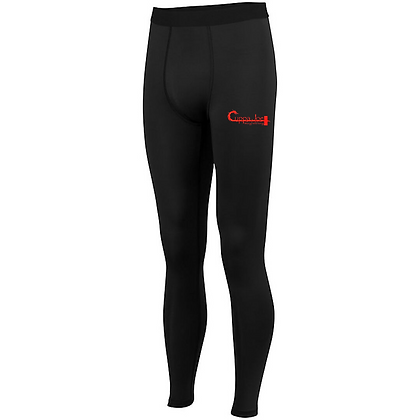 Cuppa Joe Men's Hyperform Compression Tights (Red Logo)