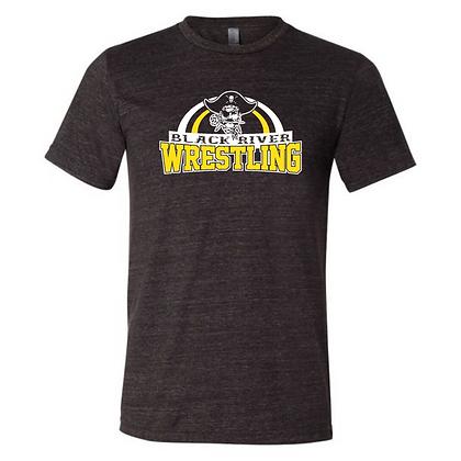 Black River Wrestling Design 2 Triblend T-shirt