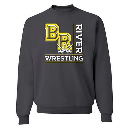 Black River Wrestling Design 1 Crewneck Sweatshirt