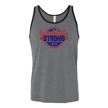 Beautifully Strong Masters Unisex Tank Top