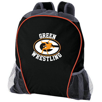Green Wrestling Rig Bag Logo #13