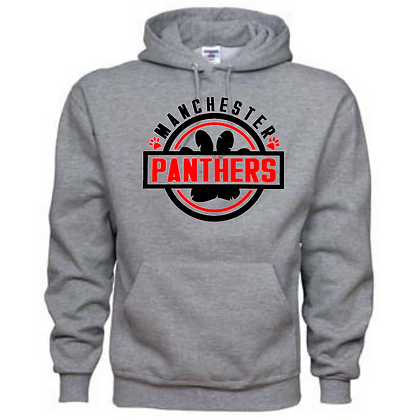 Manchester Panthers General Logo #3 Unisex Hoodie