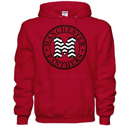 Manchester Panthers General Logo #4 Unisex Hoodie