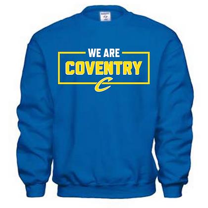Coventry General Logo # 18 Unisex Crew Neck Sweatshirt