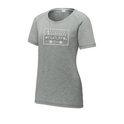 Nashville Weightlifting Ladies Triblend T-Shirt