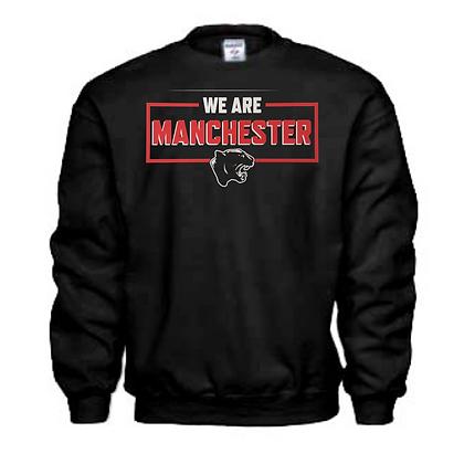 Manchester Panthers General Logo #18 Unisex Crew Neck Sweatshirt
