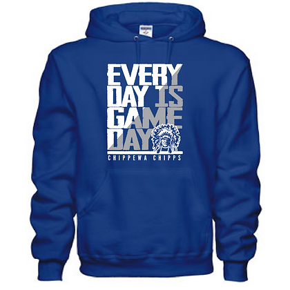 Everyday is Gameday Chippewa Chipps Unisex Hoodie