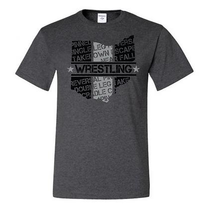 Wrestling Logo #6 Unisex T-Shirt