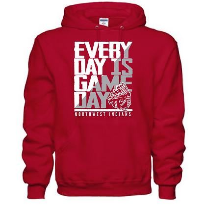 Everyday is Gameday Northwest Indians General Logo #11 Unisex Hoodie