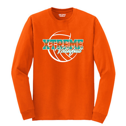 Ohio Xtreme Volleyball Logo 1 Long Sleeve