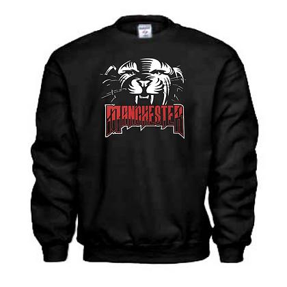 Manchester Panthers General Logo #7 Unisex Crew Neck Sweatshirt