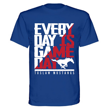 Everyday is Gameday Tuslaw Mustangs Unisex T-Shirt