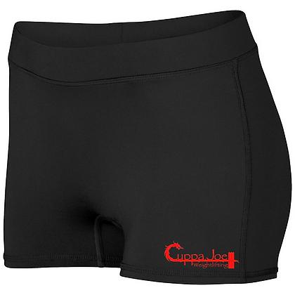 Cuppa Joe Ladies Dare Shorts (Red Logo)
