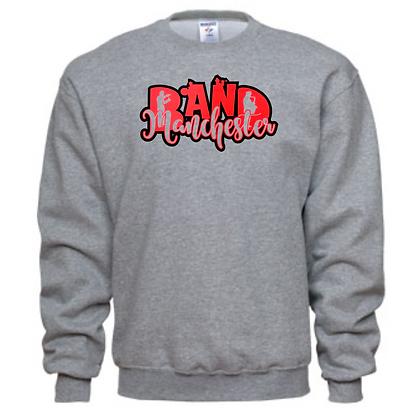 Manchester Panthers Band Logo #26 Unisex Crew Neck Sweatshirt