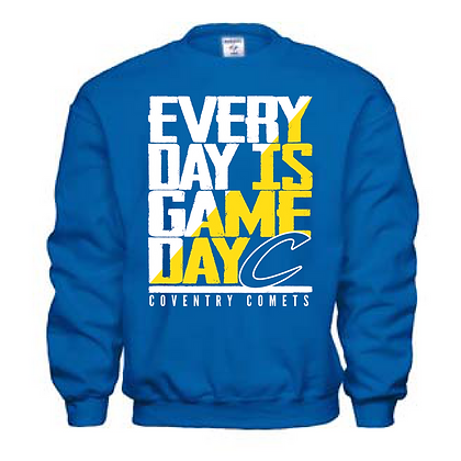 Coventry General Logo #19 Crew Neck Sweatshirt