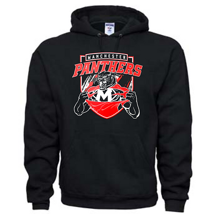 Manchester Panthers General Logo #8 Unisex Hoodie