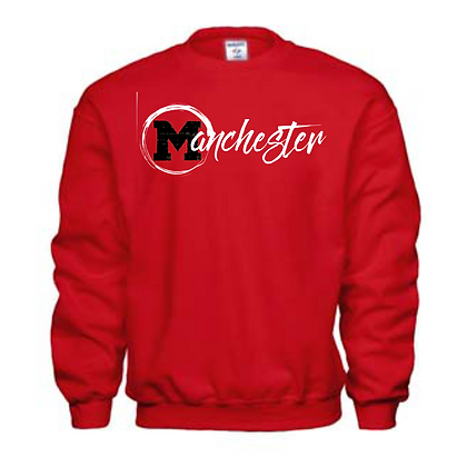 Manchester Panthers General Logo #1 Unisex Crew Neck Sweatshirt