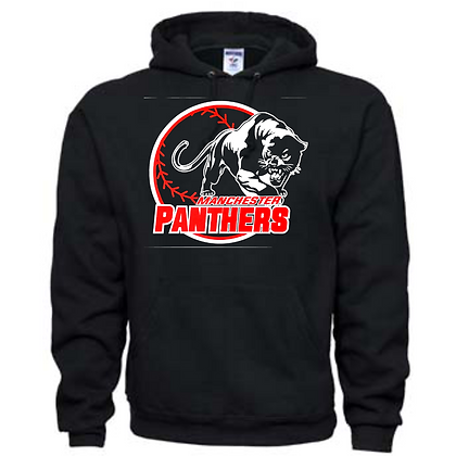 Manchester Panthers Baseball Logo #33 Unisex Hoodie