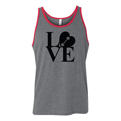 Love Weightlifting Unisex Tank Top