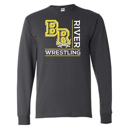 Black River Wrestling Design 1 Long Sleeve T-shirt