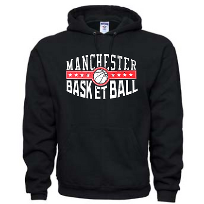 Manchester Panthers Basketball Logo #44 Unisex Hoodie