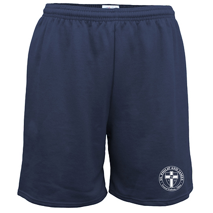 SPJ Gym Logo Solid Shorts
