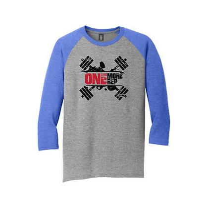 One More Rep Unisex Baseball Shirt