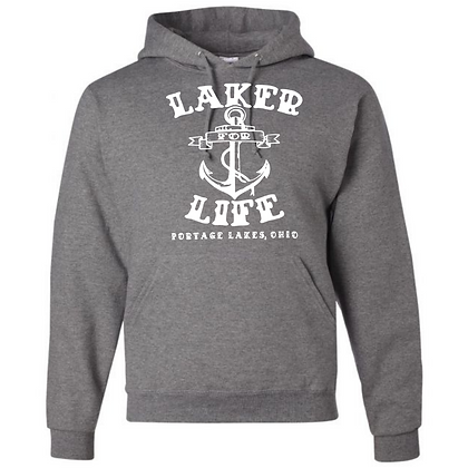 Laker For Life Hoodie (White Logo)