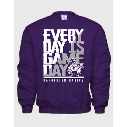 Everyday is Gameday Barberton Magics Crew Neck Sweatshirt