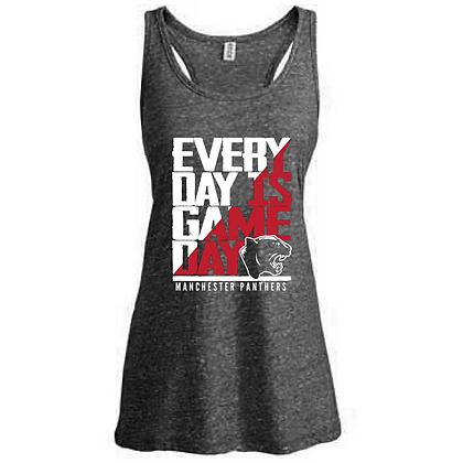Everyday is Gameday Manchester Panthers Ladies Tank Top