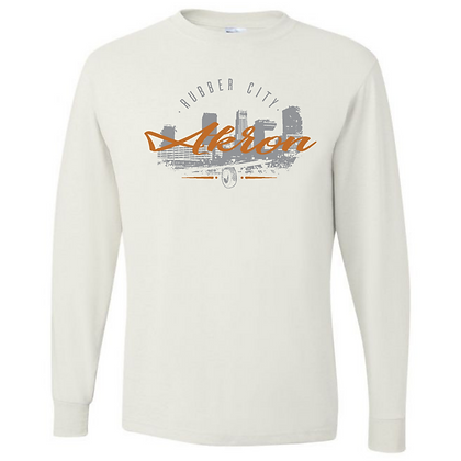 Akron Rubber City Long Sleeve T-Shirt