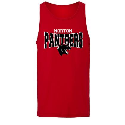 Norton Panthers Classic Logo Men's Tank Top