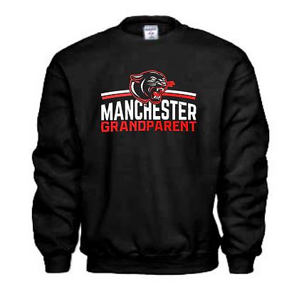 Manchester Panthers General Logo #10 Unisex Crew Neck Sweatshirt