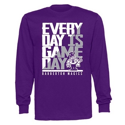Everyday is Gameday Barberton Magics Unisex Long Sleeve T-Shirt