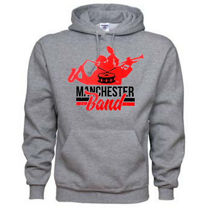 Manchester Panthers Band Logo #28 Unisex Hoodie