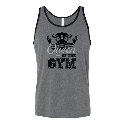 Queen of the Gym Unisex Tank Top