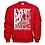 Thumbnail: Everyday is Gameday Northwest Indians General Logo #11 Crew Neck Sweatshirt