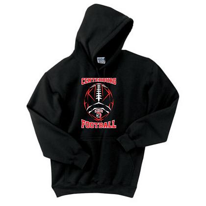 Centerburg Football Logo 3 Hoodie